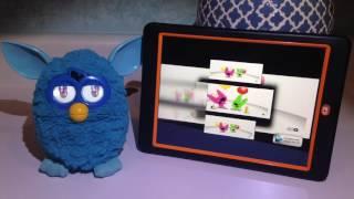 Blue Furby Reaction to Hoops & Yoyo The Birthday Dash Scan