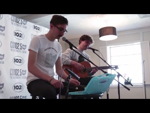 Alt-J in the CD102.5 Big Room