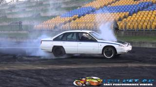SUNDAY STREET MEET BURNOUTS AT SYDNEY DRAGWAY 29.6.2014