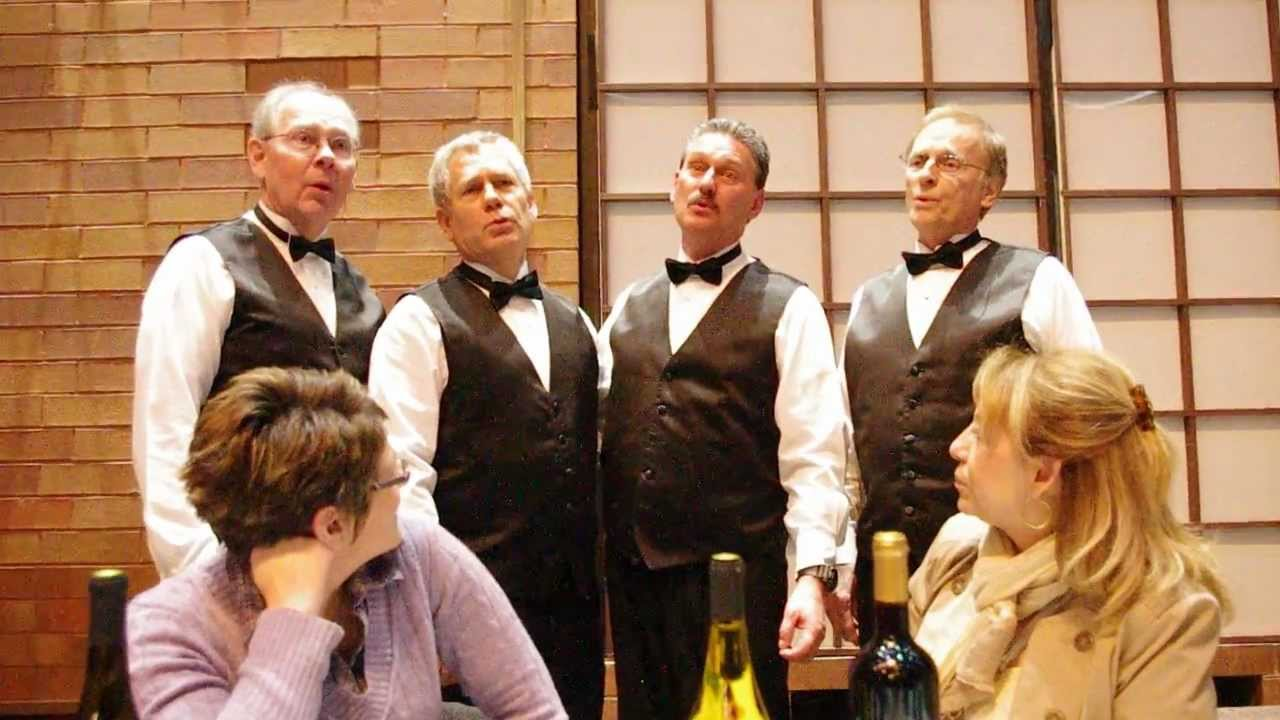 Barbershop Quartet: Music Man - YouTube