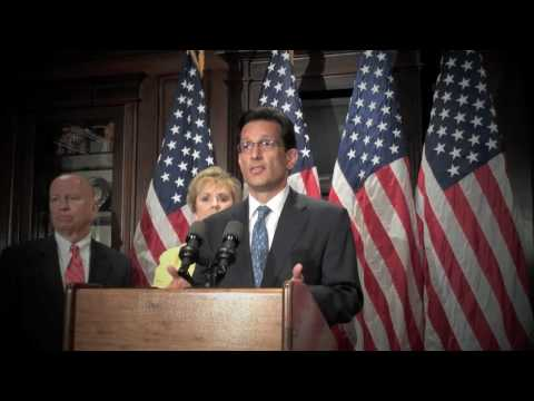 Republican Whip Eric Cantor: Time For Obama Administration To Stop The PR, Start Creating Jobs