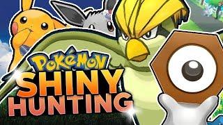 LIVE SHINY PIDGEOTTO & MELTAN HUNTING! Pokemon Let's Go Pikachu & Eevee Shiny Hunting w/ HDvee