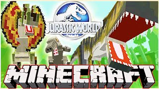 Minecraft Jurassic World Modded Roleplay Adventure! Ep.6