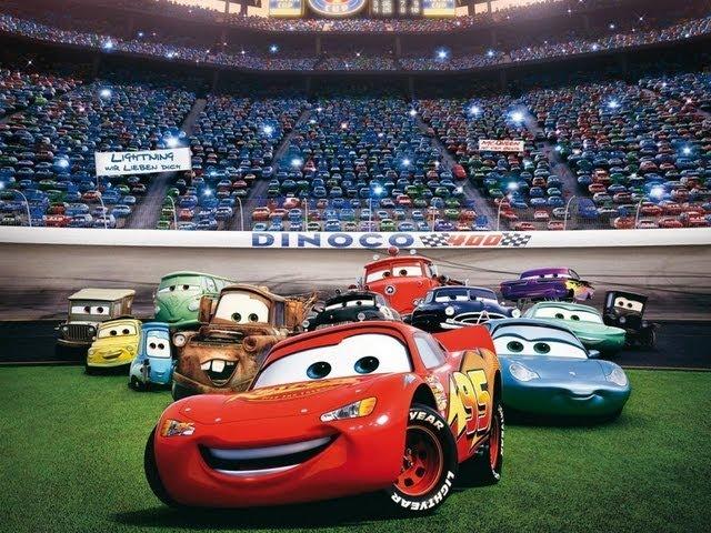 Cars - Let's play díl 1 (s Happym) (CZ/HD)