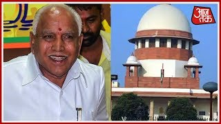 SC Refuses To Stay Yeddyurappa's Swearing In But Orders Yeddyurappa To Produce Letter Of Support
