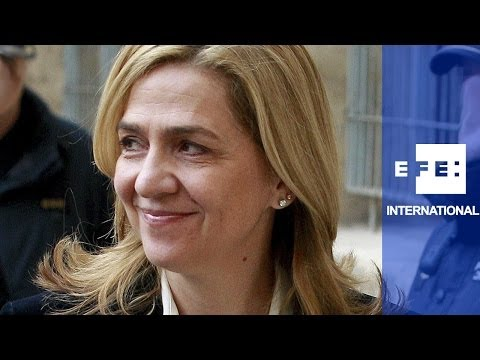 Princess Cristina makes historic appearance in court, denies role in corruption scandal