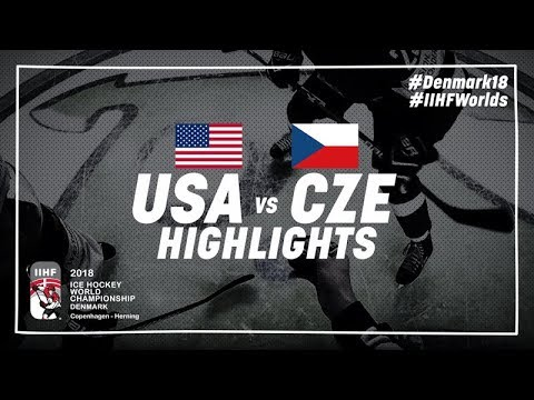 Game Highlights: United States vs Czech Republic May 17 2018 | #IIHFWorlds 2018
