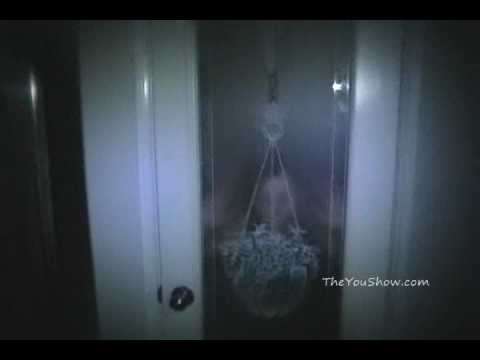 GHOST CAUGHT ON TAPE (PARANORMAL ACTIVITY) REAL SCARY!!!
