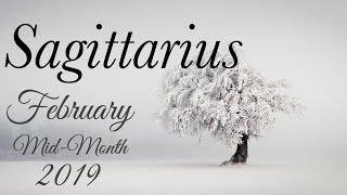 SAGITTARIUS MID-MONTH FEB | RECONCILING AFTER A BREAK - Sagittarius Tarot Love Reading