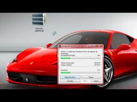 Como configurar tu usb y pasar temas y videos ala xbox slim.wmv