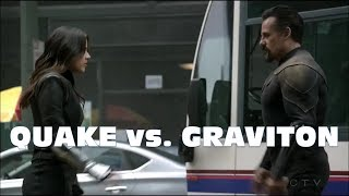 Agents of Shield Season 5 Finale: Quake vs. Graviton - Epic Fight