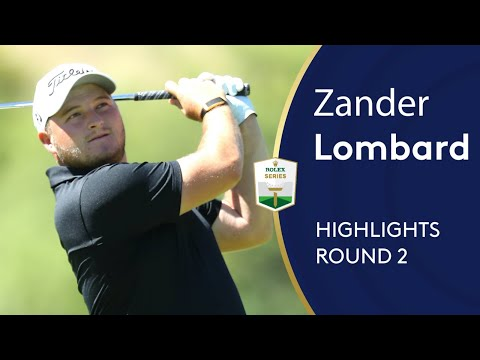 Zander Lombard shoots 65 to lead in South Africa | Round 2 Highlights | 2019 Nedbank Golf Challenge