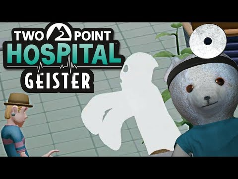 Two Point Hospital deutsch Geister Two Point Hospital German Gameplay PC #02