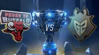 Mundial 2018: Phong Vũ Buffalo x G2 (Jogo 1) | Fase de Grupos - Dia 2