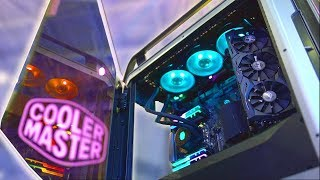 The PC Case Reimagined! 😮 Cooler Master @ Computex 2018
