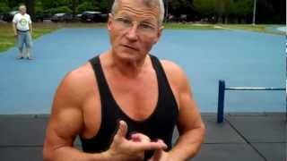 Super Strong 60 Year Old Man Gives Workout, Fitness, and Muscle Building Tips -- Brandon Carter