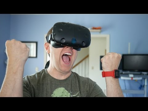 HTC Vive VR Headset Unboxing!