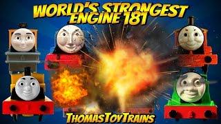 Thomas and Friends 181 World's Strongest Engine Trackmaster Tomy Plarail Toy Trains ThomasToyTrains