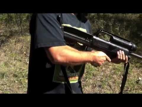 SOLD:  High Standard 10a Police SWAT Bullpup 12 gauge Shotgun SHOOTING