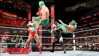 The Lucha Dragons vs. Kevin Owens & Alberto Del Rio: Raw, June 13, 2016