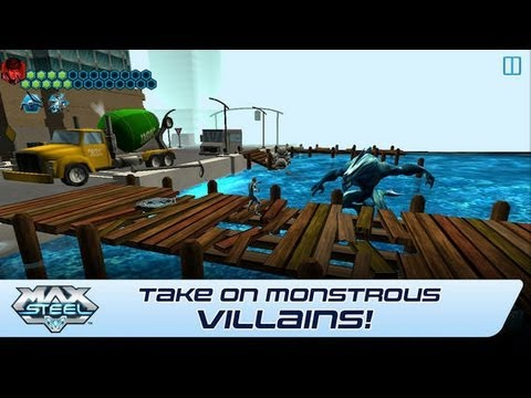 Max Steel gameplay for ios- iphone ipod and ipad