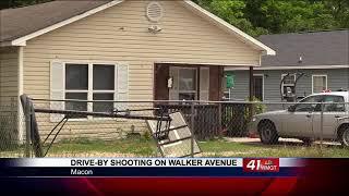 Bibb County Deputies investigating drive-by shooting