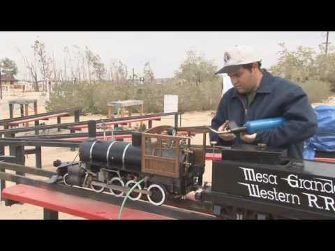 Live Steam West Valley Consolidation 2 8 0 first steam trial