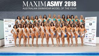 MAXIM Australian Swimwear Model of the Year 2018