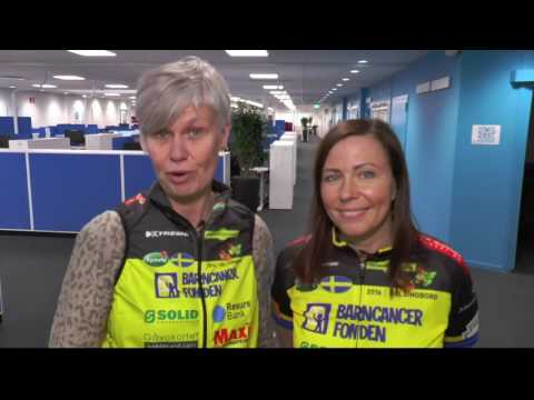 Team Rynkeby sponsorfilm för Resurs Bank