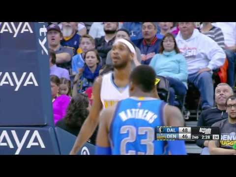 Dallas Mavericks vs Denver Nuggets   March 28, 2016   NBA 2015-16 Season