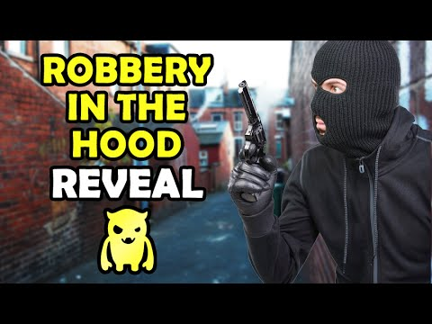 Robbery in The Hood REVEAL (UK) - Ownage Pranks