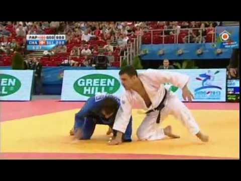 Judo European Championships 2013: Amiran PAPINASHVILI (GEO) - Ludovic CHAMMARTIN (SUI) Final [-60kg]