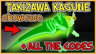 Ro Ghoul - Takizawa Kagune Showcase & ALL THE CODES !