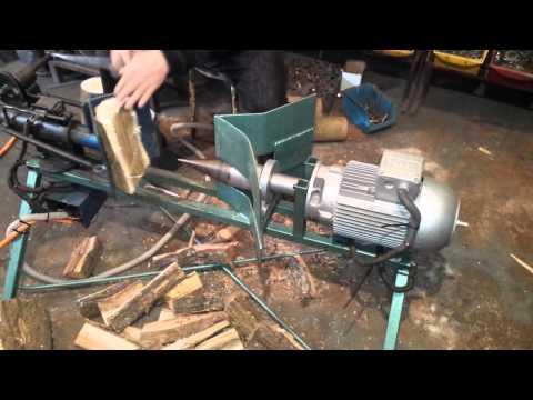 Cepac za drva sa svrdlom ,  masina za cepanje drva