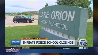 Lake Orion High School closed today due to threat