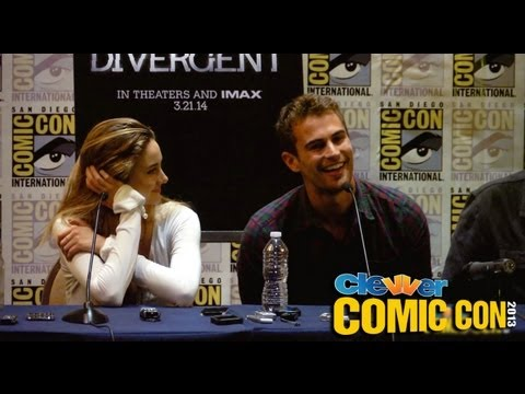 DIVERGENT Panel Comic-Con 2013: Shailene Woodley, Theo James, Veronica Roth, Neil Burger
