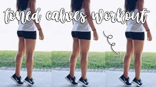 10 Minute Calf Workout for Women