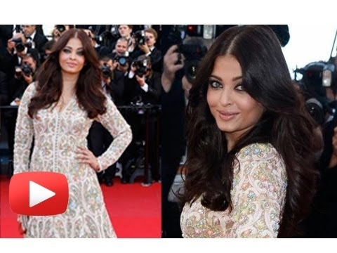 Aishwarya Rai Bachchan Turns White Angel On The Cannes Red Carpet