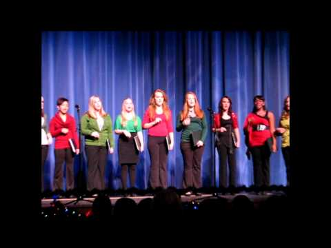 """Rockin Around the Christmas Tree,"" Larkin High School Sapphire Sisters (Premiere), 12/6/2011"