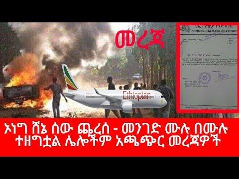 Ethiopia || መረጃ - ኦነግ ሸኔ ሰው ጨረሰ - መንገድ ሙሉ በሙሉ ተዘግቷል - የሀሰት መረጃ ሌሎችም አጫጭር መረጃዎች thumbnail