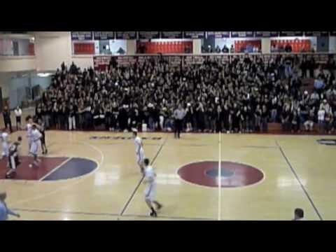 Central Catholic High School Basketball Crowd Flash Mob - 02/13/2010
