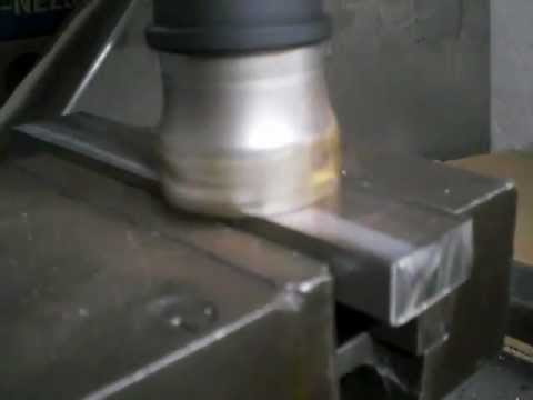 steel face milling / Homemade CNC milling machine