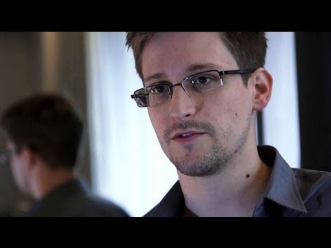 US surveillance whistleblower Edward Snowden speaks