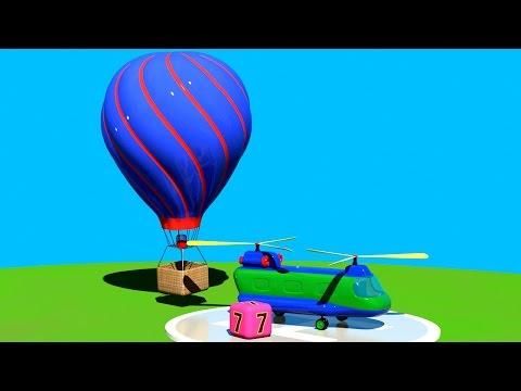 3D Мультик Конструктор: Аэропорт. Собираем Воздушный шар