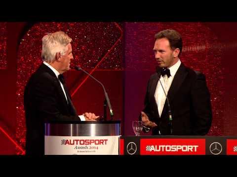Christian Horner - AUTOSPORT Awards 2014