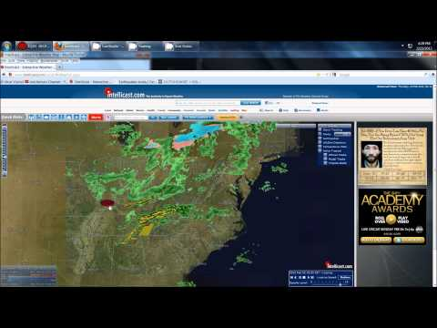 22/2012 -- Tornado Warnings in Tennesse -- severe weather outbreak