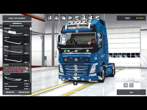 New Volvo FH16 Accessories + Interior v2