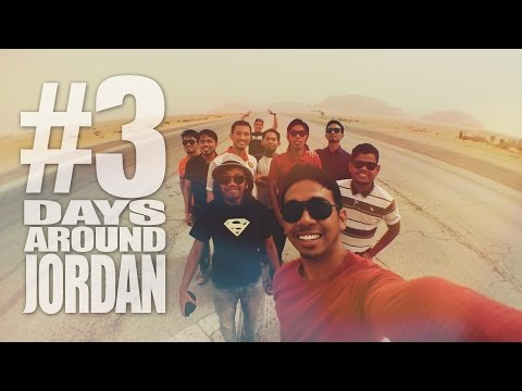 SJCAM SJ4000 WIFI : 3 Days Around Jordan ( Dead Sea - Aqaba - Wadi Rum ) | Travel Jordan