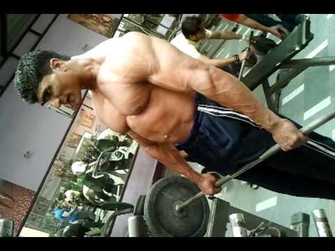 Mr. Vinay (Mr. India) Fitness Future Gym - YouTube