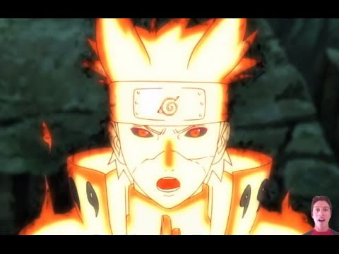 Naruto Shippuden Episode 372 Review- Minato Kyuubi Mode + Team 7 Reunites! Hokages VS Juubi ナルト- 疾風伝